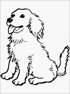 Disegno Cane Bianco E Nero.Colorare4u Immaginii Da Colorare