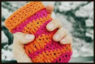 Funda para celular a crochet - Ahuyama Crochet