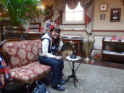 visite du musée Sherlock Holmes Londres