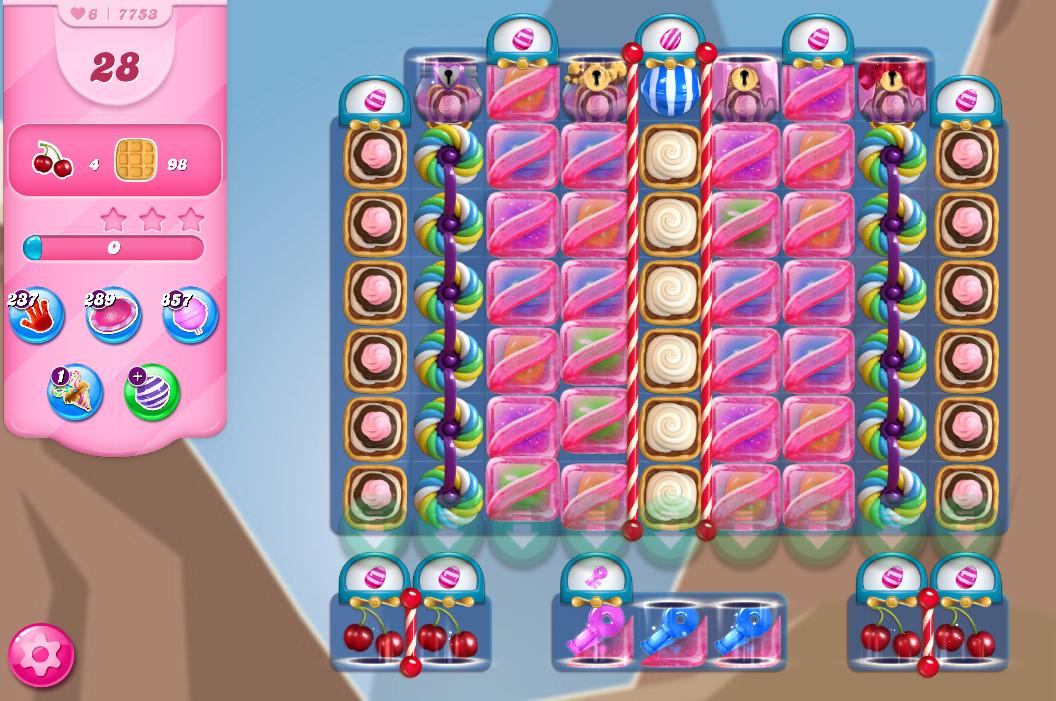 Candy Crush Saga level 7753