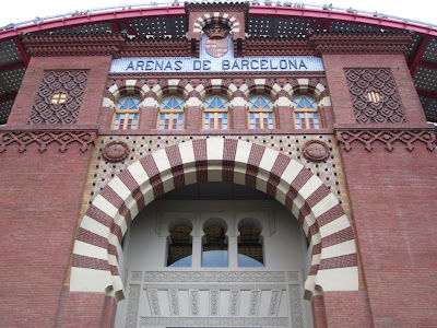Las Arenas shopping center in Barcelona