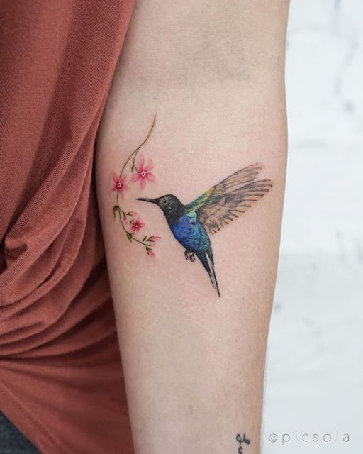 Tatuagens de aves para as mulheres