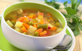 Vegetable Soup (Sebze Corbasi)