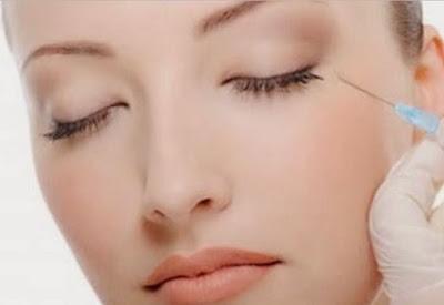 Foto Suntik Botox Mengencangkan Kulit Kendur Penghilang Kerutan Kembali Remaja