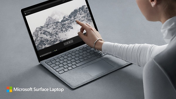 "Microsoft launches Surface Laptop with 13.5"" PixelSense display, Windows 10 S and 14+ hours of battery life"