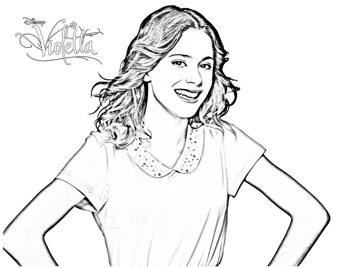 Disegni Di Violetta Da Stampare E Colorare 30 Immagini Tantilink