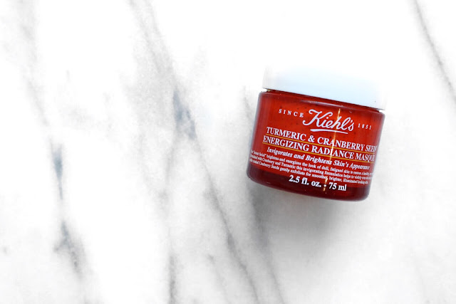kiehl's tumeric and cranberry seed mask review