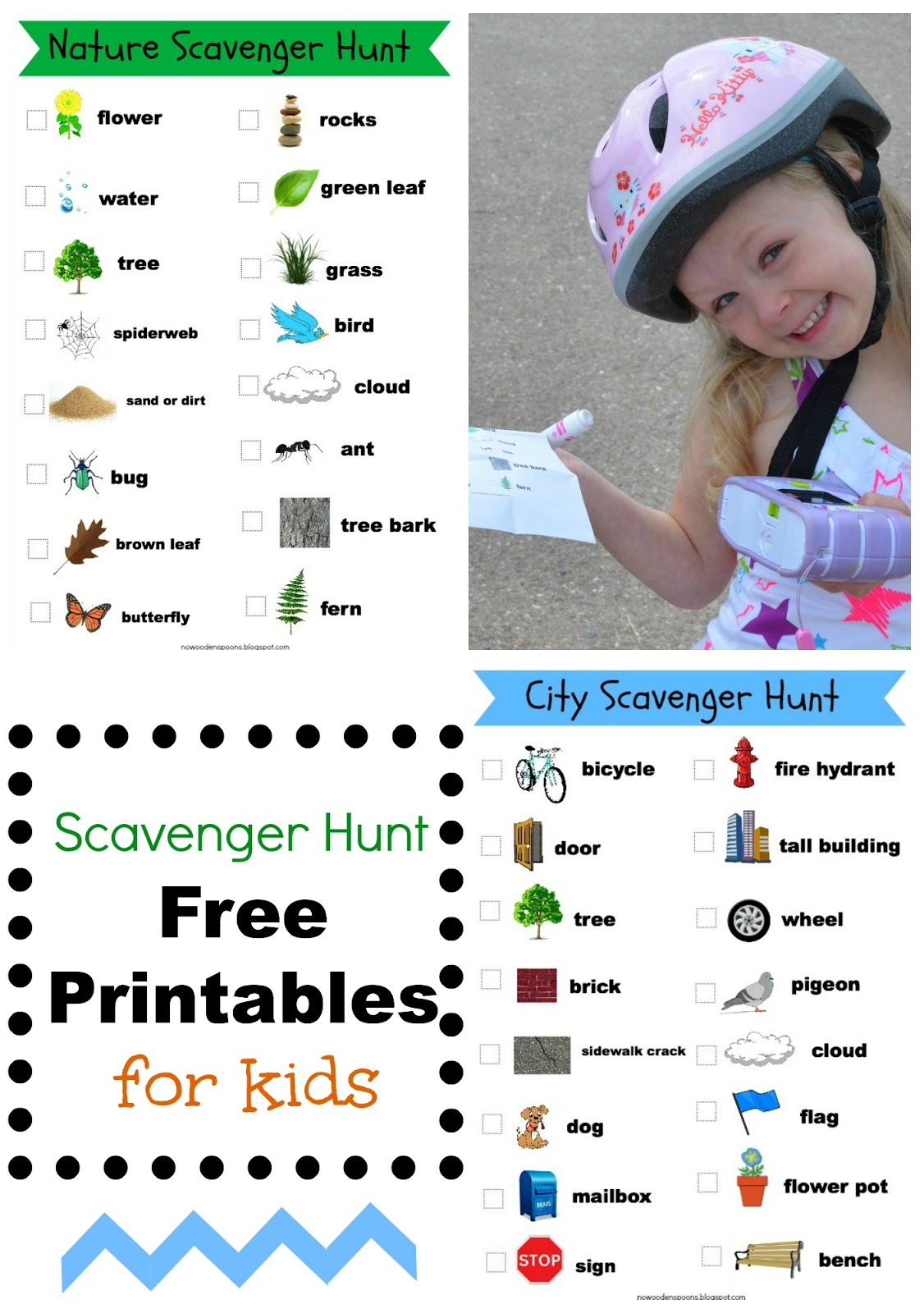 No Wooden Spoons Photo Scavenger Hunt For Kids Free Printables