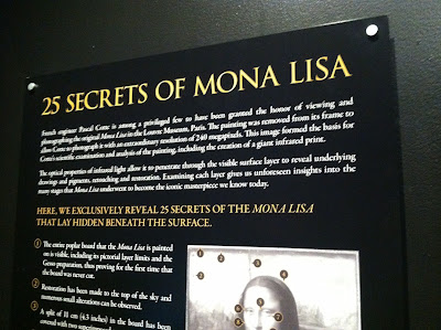 25 Secrets of the Mona Lisa Da Vinci the Genius Museum of Science, Boston