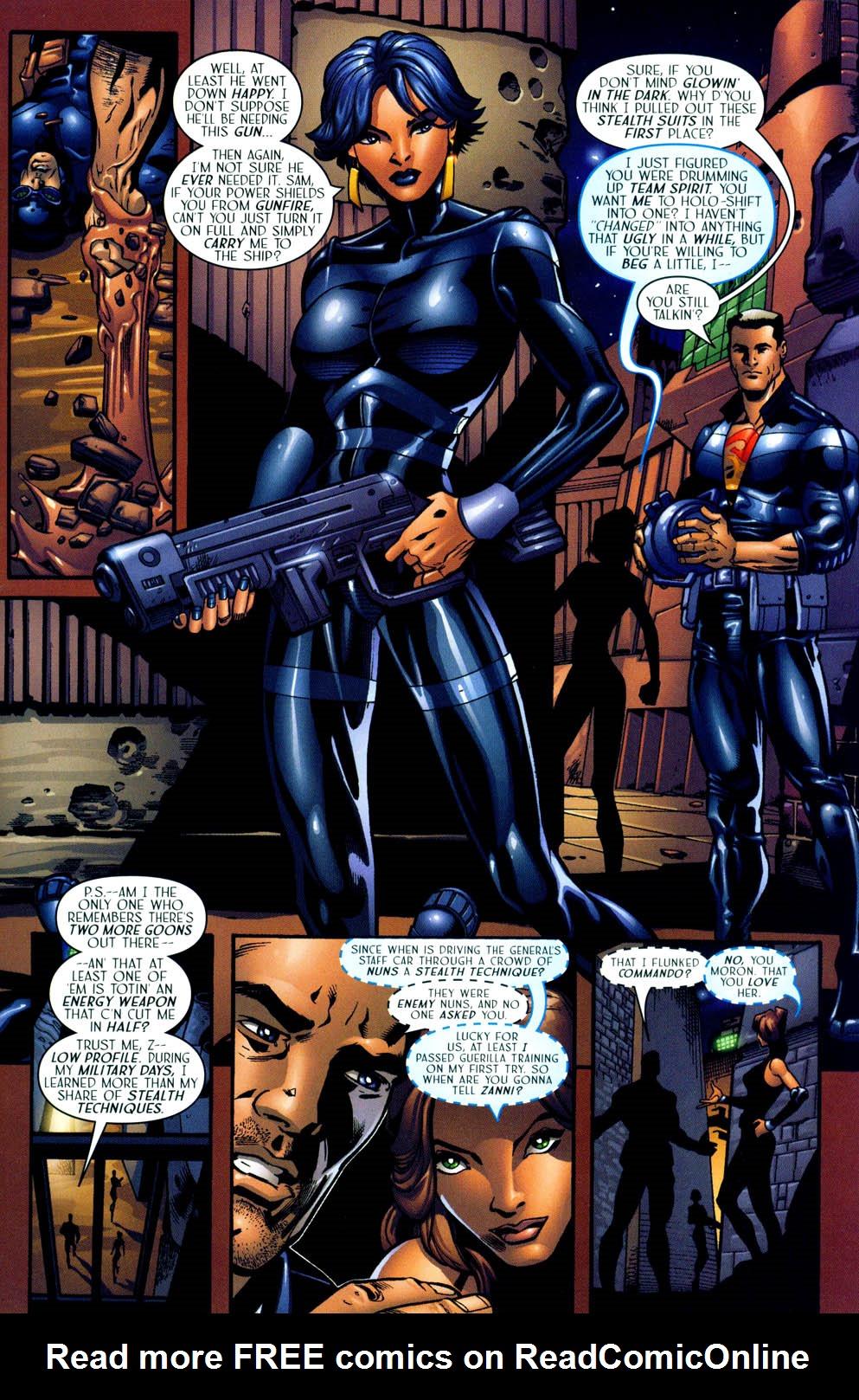 Read online Sigil (2000) comic -  Issue #12 - 11