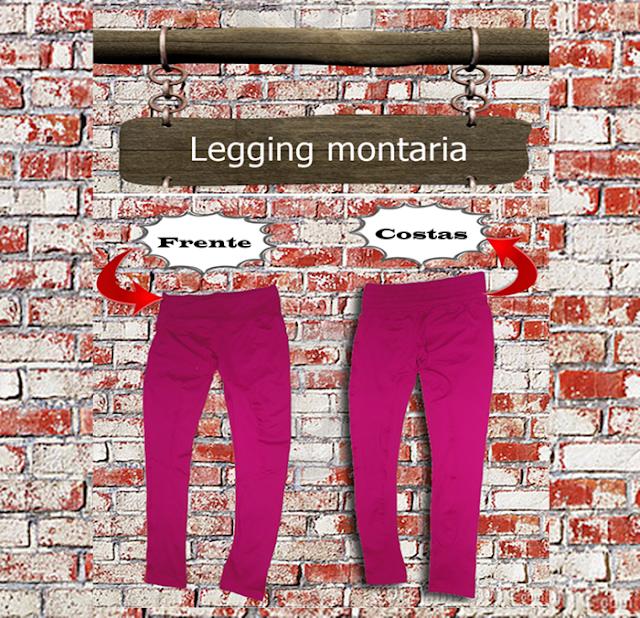 Legging montaria Bordô