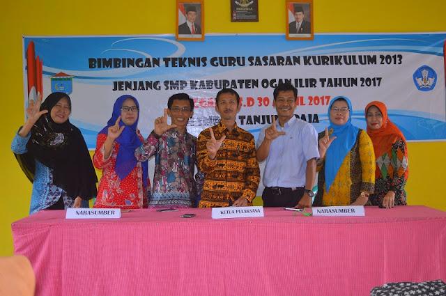 SMPN 2 Tanjung Raja Gelar Bimtek