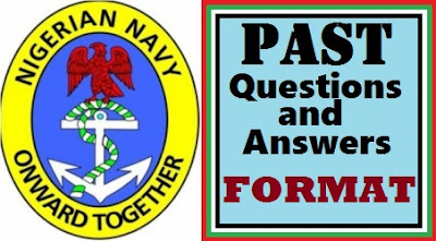 DSSC Exam Past Questions | Nigerian Navy Aptitude Test Format