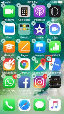 Delete App on Long Press