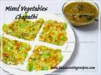 Mixed VegetablesChapathi