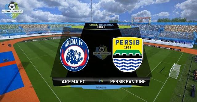 Prediksi Arema FC vs Persib Bandung 12 Agustus 2017