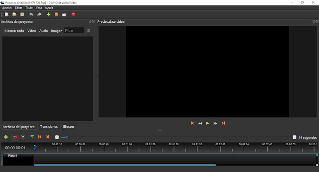 OpenShot Video Editor imagenes