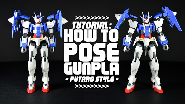 Tutorial: How to Pose Gunpla Putaro's Style [EFSF] PART 01