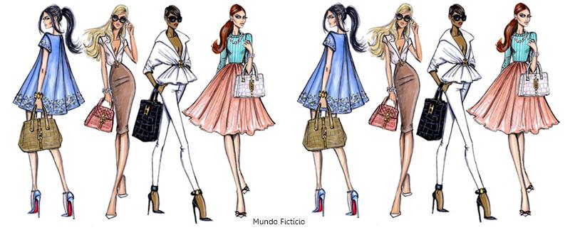 quero fazer design de moda e agora mundo ficticio