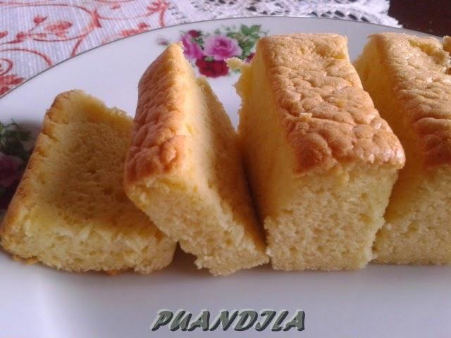 koleksi resepi kek span  ovalette foody bloggers Resepi Kek Span Vannila Tanpa Ovelette Enak dan Mudah