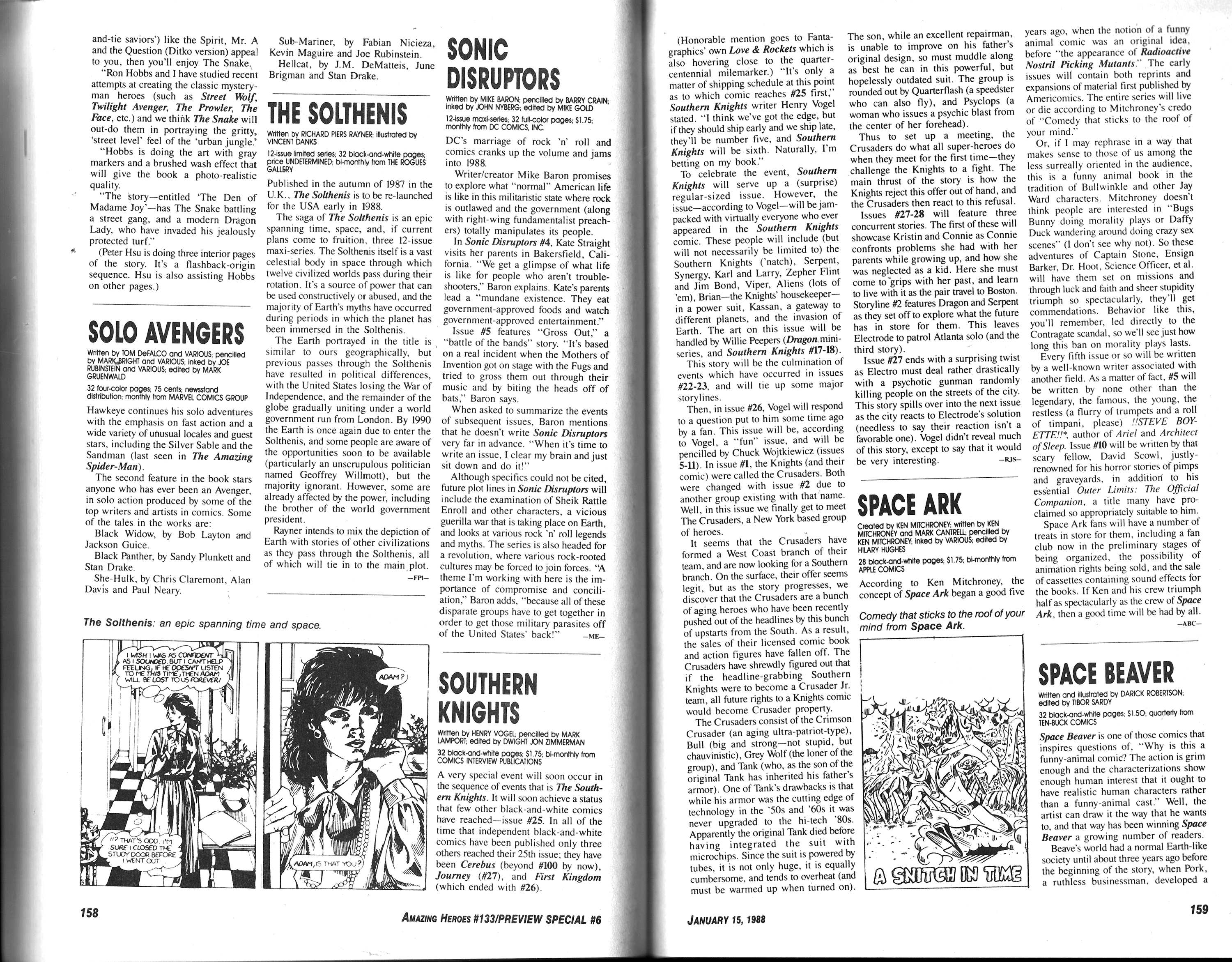 Read online Amazing Heroes comic -  Issue #133 - 81