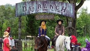 Journey Sambil Berkuda di De' Ranch Lembang Bandung