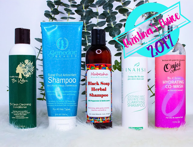 Best Shampoos and Co-Washes for Natural Hair 2017