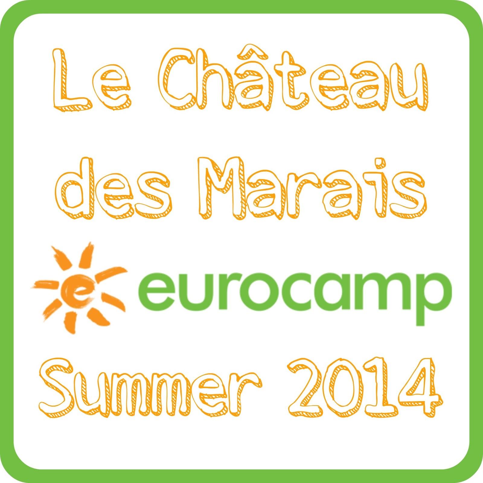 Le Château des Marais, Eurocamp, Summer 2014