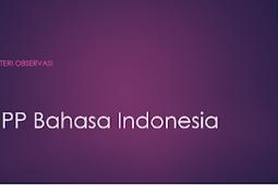 RPP Bahasa Indonesia Kelas X SMA Materi Observasi