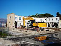 rušenje Lipe i doma, Postira otok Brač slike
