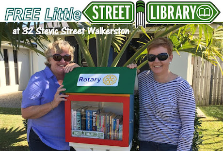 Walkerston's Free Little Street Library