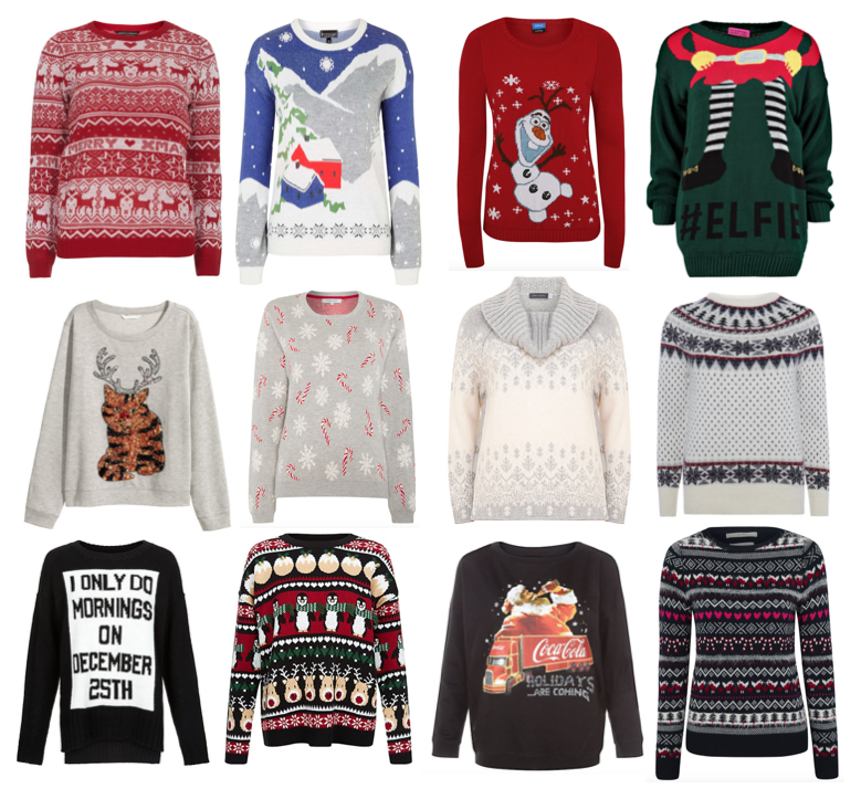 Christmas Jumpers Wishlist
