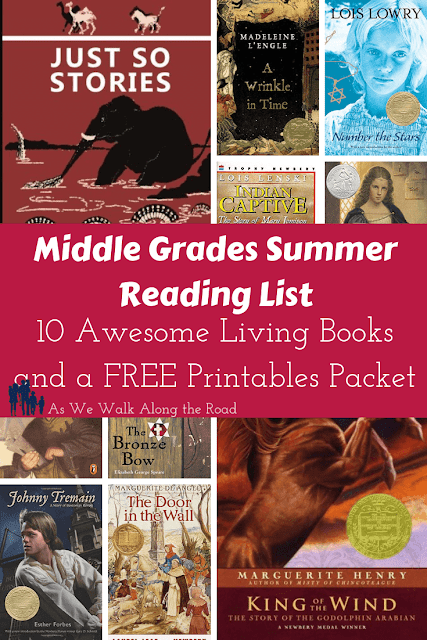 Middle grade summer booklis