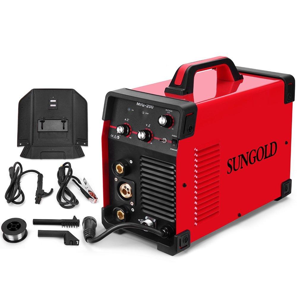 U0026quot Review U0026quot  Sungoldpower 200 Amp Mig Mag Arc Mma Stick