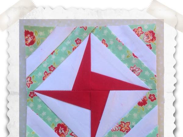 Chatelaine- Free BOW Sampler Quilt Block 76
