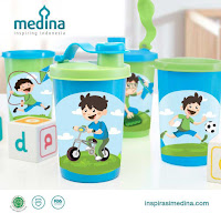 Dusdusan Adia Boys Tumbler Set (Set of 4) ANDHIMIND