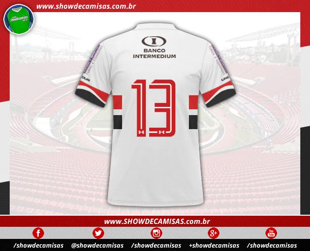 d64601b31b São Paulo anuncia novo patrocinador para sua camisa - Show de Camisas