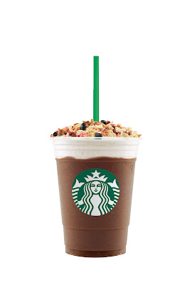 Granola Dark Chocolate Frappuccino