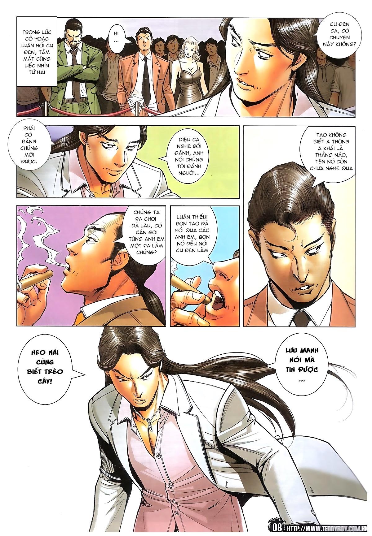 Người Trong Giang Hồ - Ngũ Hổ qui thiên - Chapter 1718: Đàm phán siêu cấp 4 - Pic 7
