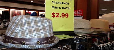 Clearance Hats Are A Weakness For Me!