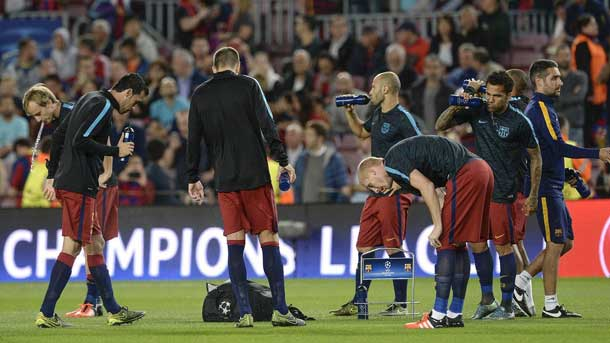 Luis Enrique apuesta por un once con pocas rotaciones contra el Athletic