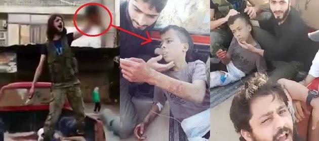 Οι υμνητές του Αλλάχ έσφαξαν σαν αρνί δεκατριάχρονο παιδί ΒΙΝΤΕΟ