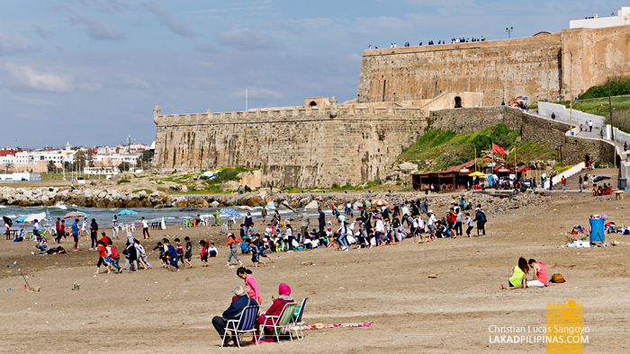 Rabat Three Day Itinerary Rabat Beach