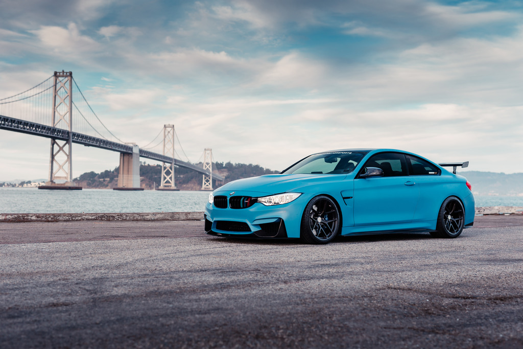 San Francisco Bmw >> Frozen Yas Marina Blue BMW M4 Is The Ultimate Smurf | carscoops.com