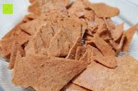 Aussehen: 8 x Glutenfreie Protein Chips, 52gr pro Tüte, 20gr organic Proteine, glutenfrei, natural, healthy (BBQ)