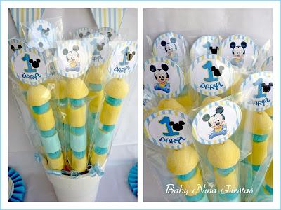 kit de cumpleaños Mickey baby