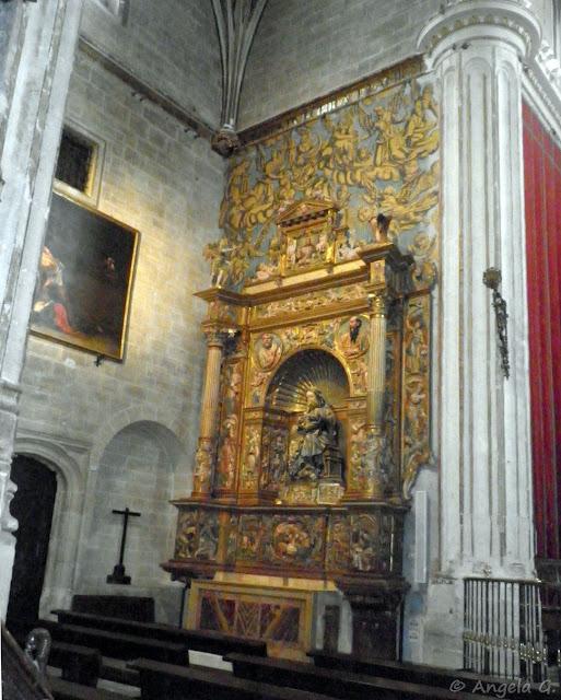 Retablo de Nuestra Señora de la Majestad o de la Calva