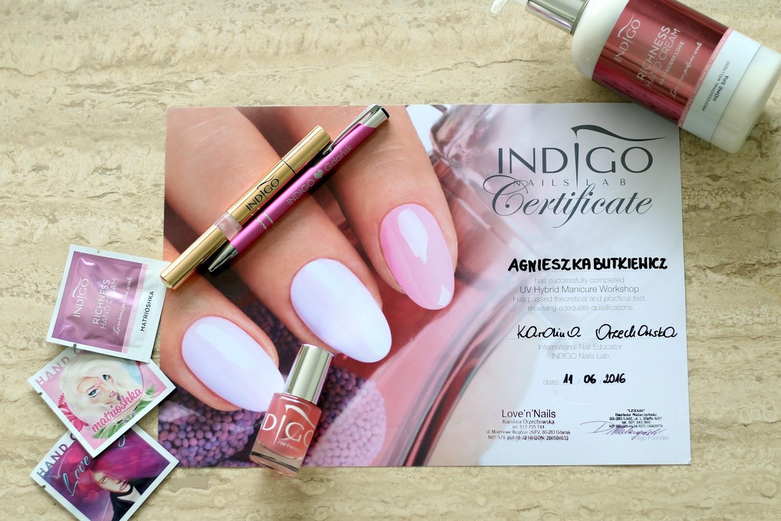 Blog Urodowo Kosmetyczny Ladyaggu Indigo Nails Lab Manicure