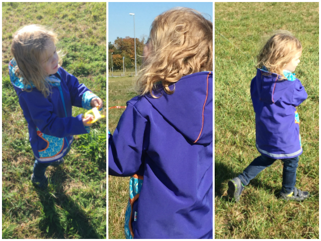 Bjarne lässt einen Drachen steigen - Jacke von Babauba
