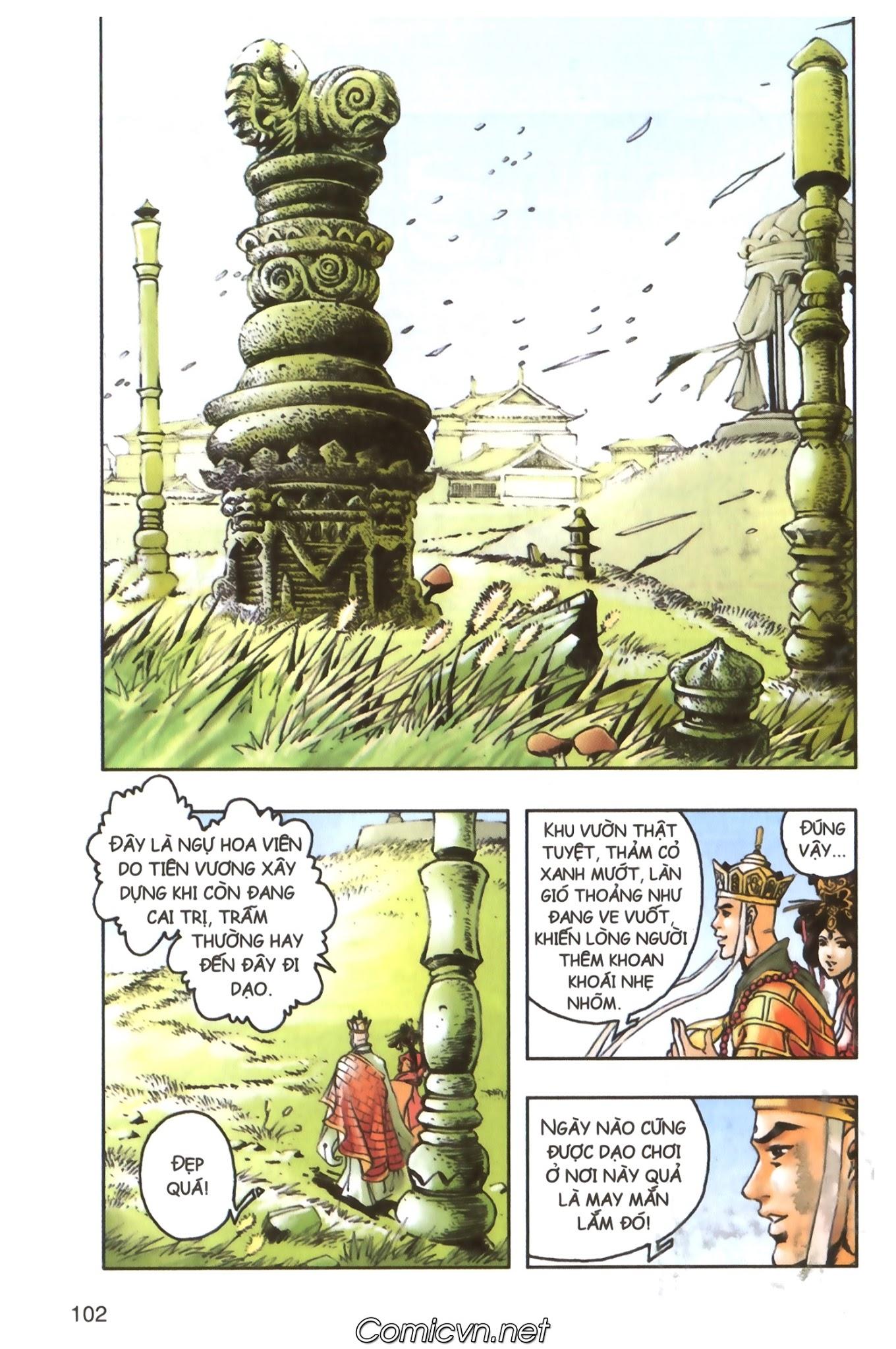 Tây Du Ký màu - Chapter 98 - Pic 33